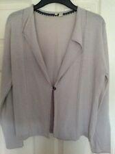 Provided Joules Sleeveless Cotton & Linen Cardigan Size 12 Chartwell Aqua Bnwt Sweaters