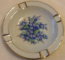 Vintage Schumann Forget Me Knot Ash Tray Made In Germany