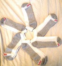 Hanes Men's Cushion No Show Socks White 6 Pair