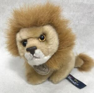"Aurora Classic LION 5"" Plush Stuffed Animal Toy 2003 Realistic"