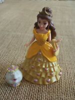 Polly Pocket Disney Princess MagiClip Doll Beauty Beast Belle Magic Clip F25