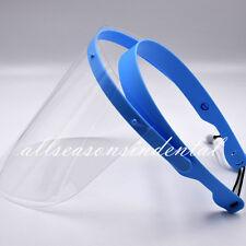 Dental Face Shield Plus Detachable Visors Protective Plastic Films Masks 10 Pcs