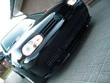 Pour VW Golf 4 GTI Lèvre Lame Inférieure Spoiler Pare-Choc Avant Noir 1997-2006