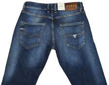 Men's Guess Vermont Slim Straight Low Rise Denim Jeans W29 L34