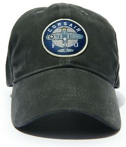 Vought F4U Corsair Baseball Cap, Vintage WWII & Korean War Aviation  HAT-0123