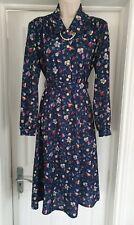 Vintage Tea Dress Size 12 - 1940's/50's Look Excellent Condition