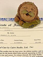 Elwood-R 1981 Tom Clark Gnome Signed Figurine Coa No Story 11