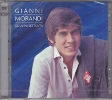 2 CD ♫ Audio Box Set **GIANNI MORANDI • GLIA ANNI SETTANTA** nuovo sigillato