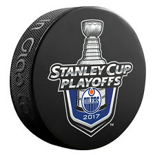 2017 NHL Edmonton Oilers Stanley Cup Playoffs Commemorative Hockey Puck