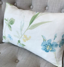"10.5x16"" Handmade Laura Ashley Orchid Apple/Austen Off White Cushion Cover"