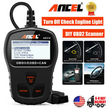 ANCEL AD210 OBDII Car Code Reader Automotive Vehicle Scanner Check Engine Light