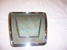 1961 Chevy Impala Hard Top and Convertible Rear Seat Speaker Grill  RARE