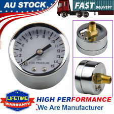 "0-15 psi Oil Fuel Pressure Gauge Mechanical 1.5"" 1/8 NPT For Chevy Ford Hot Rod"