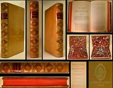 1888 FULL Leather BLUNT'S UNDESIGNED COINCIDENCES OLD & NEW TESTAMENT Prize Book