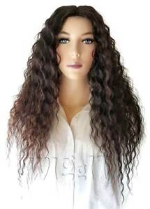 SP101 ATTY | BLONDE/BLACK | LONG CURLY SYNTHETIC LACE PART WIG | SLEEK SPOTLIGHT