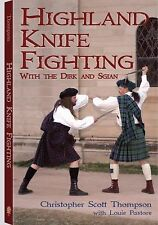 Highland Knife Fighting by Christopher Scott Thompson Paperback Book (English)