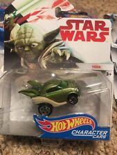Star Wars Hot Wheels Character Cars  Yoda FDJ83 New Sealed