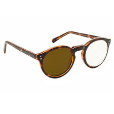 5X / +20 Diopter Magnifying Reading Glasses: Left Eye Magnified - Tortoise Frame