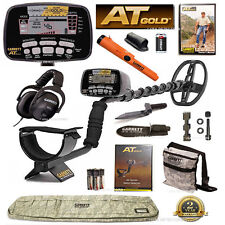 NEW Garrett AT GOLD Metal Detector ULTIMATE BUNDLE With PRO-POINTER AT & MORE !
