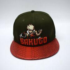 Anime Snapback Bakugo My Hero Academia Cap