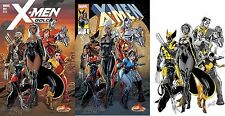 X-MEN GOLD #1 J. SCOTT CAMPBELL STORE EXCLUSIVE 3-COMIC SET VARIANT COVERS A B C
