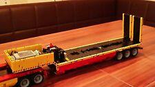 Bauanleitung instruction Tieflader 8109 Eigenbau Unikat Moc Lego Technic