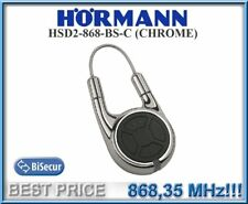 Hörmann HSD2-C 868 Chrom Fernbedienung, 868,3MHz BiSecur 2-Kanal Handsender