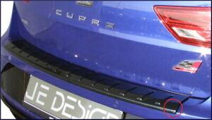 JE DESIGN Ladekantenschutz Seat Leon 5F ST alle schwarz-glanz