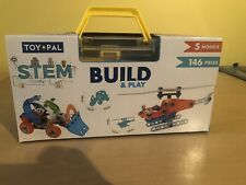Toy Pal Stem Build And Play, 146 Pieces, New In Box, Comes With Tools