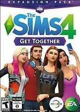 Brand New Sealed The Sims 4: Get Together Expansion Pack Windows or MAC PC game