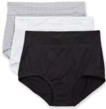 Warner's No Muffin Top Brief Panties, Size 6/Medium, Lot Of 3, NWT