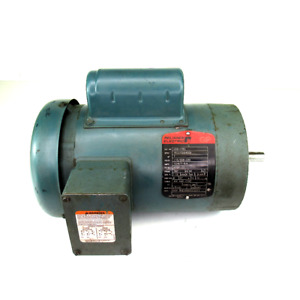 Reliance Electric C56H1782 Motor, 1 HP, 115/208~230V, 12.8/7~6.4 A, 1725 RPM,1-P