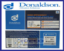 Donaldson Fuel / Water Separator Filter Kit (P903316) 3 Micron 2 x P551615