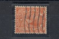 GB KGV 1924 2d Orange Watermark Sideways SG421b VFU J5398