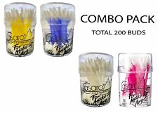 Casaro cotton Can applicators, 50 units Each Combo Pack Of 4 (Total 200 Buds)