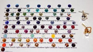 G/P Tie Tac/Pin & Chain Back with Crystal-Wedding-Men-Ladies-Gifts-Accessories
