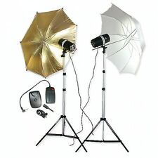 Studio Photo Flash-Set Studioset Studio Flash Installation (2x160 WS) Studio Flash Lampe