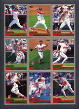 2000 Topps Baseball Cleveland Indians TEAM SET