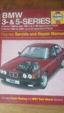 HAYNES CAR WORKSHOP MANUAL BMW 3 AND 5 SERIES