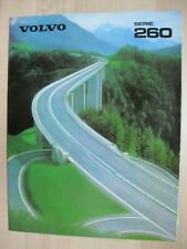 Volvo 260 264 265 incl. 262C brochure Prospekt German text Deutsch 32 pages 1980