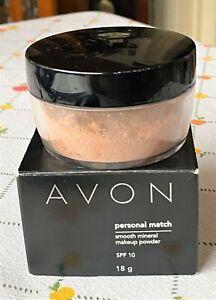 Avon Smooth Mineral Loose Makeup Powder. BISQUE. SPF 10. 18g.