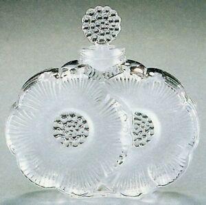 Cristallo Lalique - Bottiglia per profumo Deux fleurs (11301)