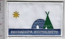 First Nation  Tribal Flag Quebec Kuujjuaraapik & Cri Whapmagoostui, Canada