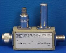 Agilent Hp Keysight 788C Directional Detector 3.7 to 8.3 Ghz