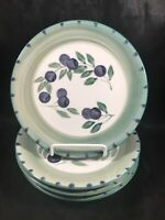 Set of 4 Tabletops Unlimited OLIVE GARDEN Side Plates A