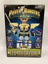 Vintage Power Rangers Zeo Megazord Zord Deluxe Near Complete Box No Sword 1996