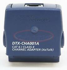 1pc Used Dtx Cha001a Cat 6 Channel Adapter For Fluke Dtx 1800 Dtx 1200