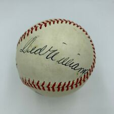 Ted Williams Signed Autographed Baseball With JSA COA