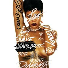 "Rihanna ""Unapologetic"" Art Music Album Poster HD Print 12"" 16"" 20"" 24"" Sizes"