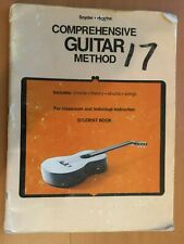 Student MUSIC BOOK Comprehensive Guitar Method SNYDER HIGGINS Chords Theory ++